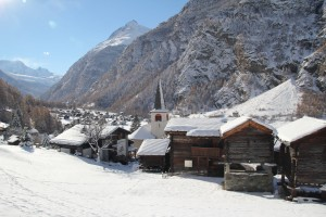 Winter holidays in Randa (Zermatt)