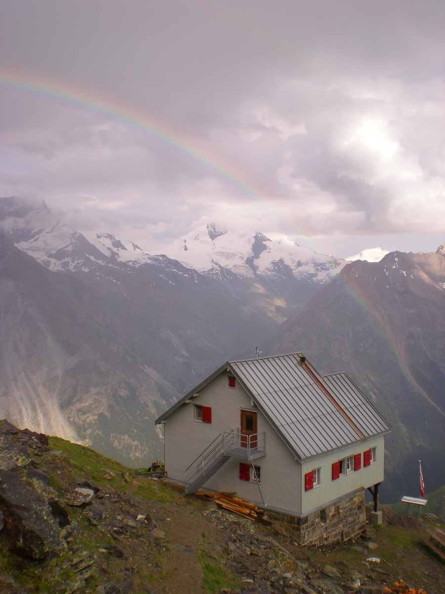 Weisshornhütte Randa