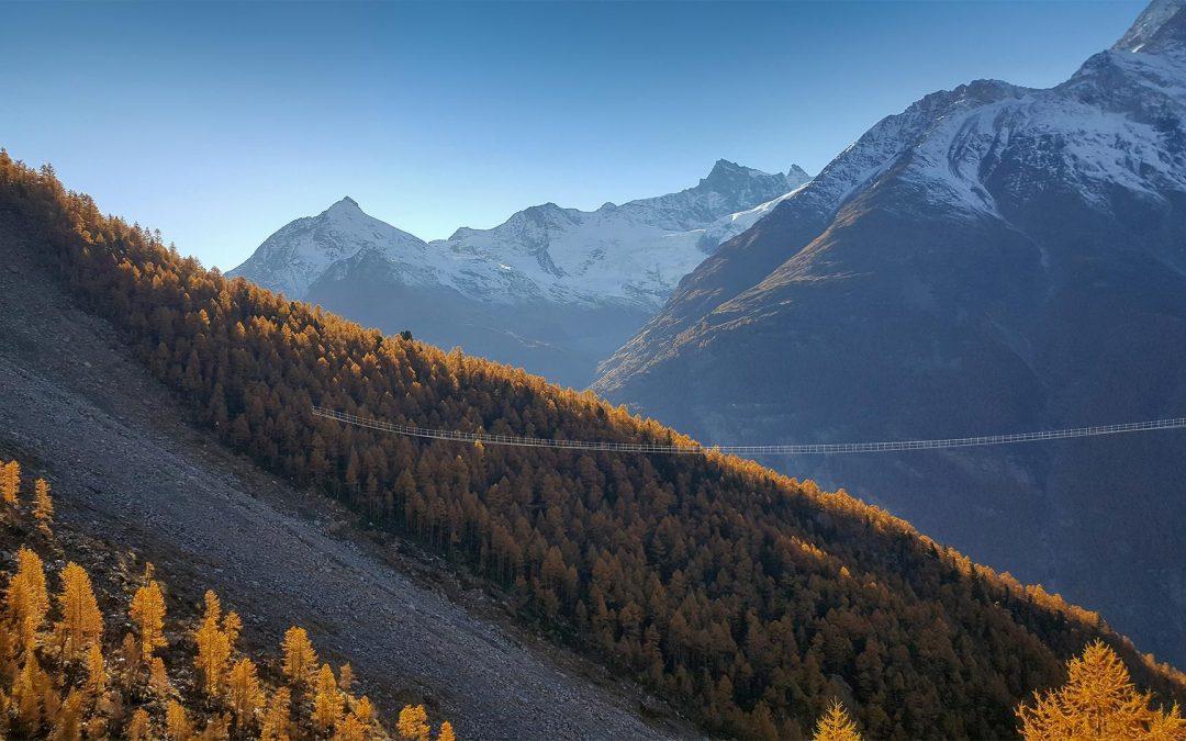 Grächen/Zermatt: Neue Europawegbrücke zur Hälfte finanziert