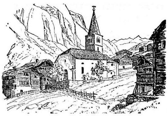 Heute vor 130 Jahren | Das Lawinenunglück von 1888 in Randa/Wildi