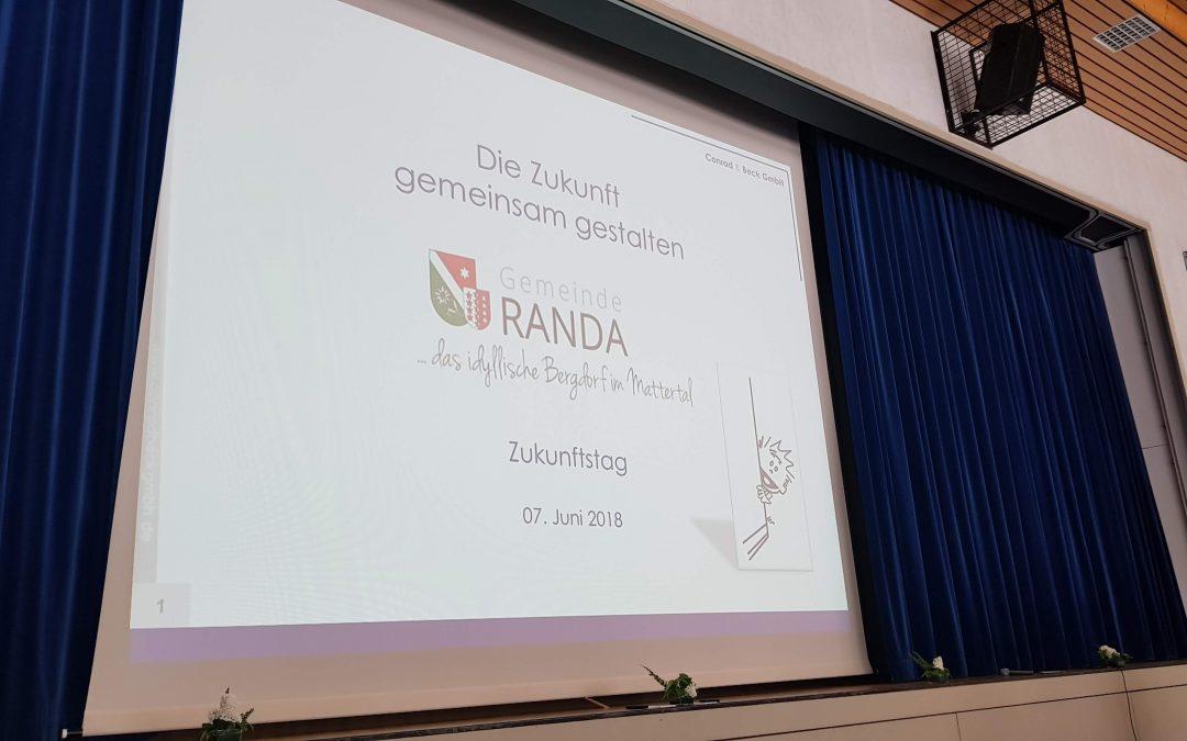 Die Zukunft von Randa gestalten