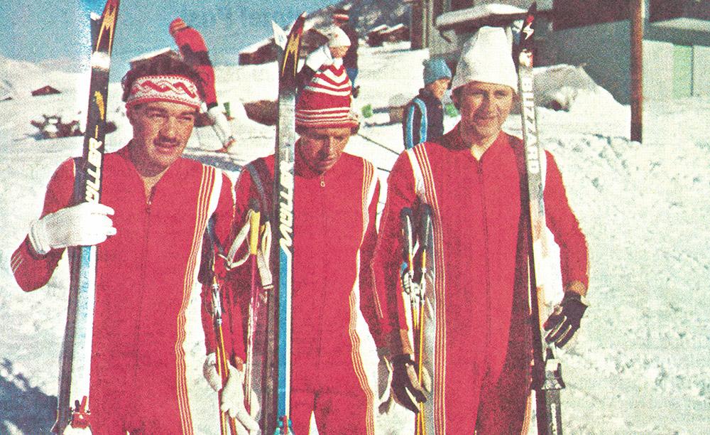 Heute vor 40 Jahren war Randa Austragungsort der 35. Walliser Skimeisterschaften der Nordischen