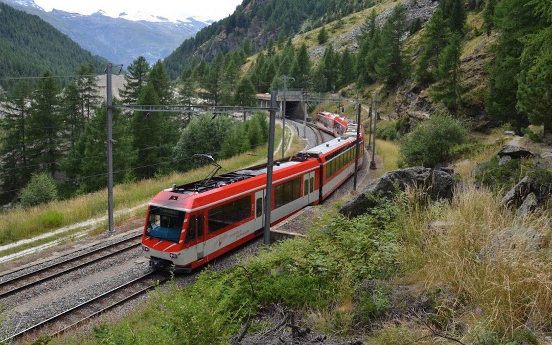 St. Niklaus/Täsch: Strecke der MGBahn wieder normal befahrbar