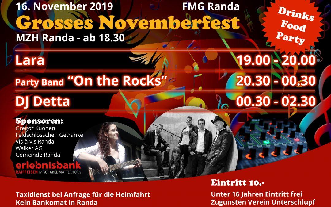 Grosses Novemberfest