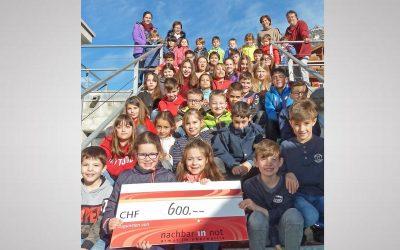 Randa: Schüler machten sich für Stiftung Nachbar in Not stark